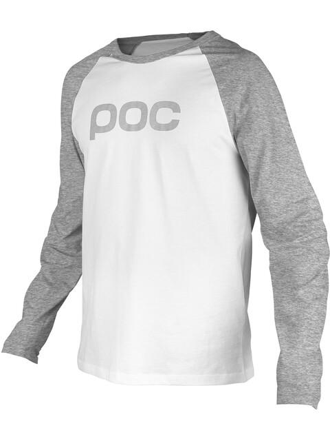 POC Raglan LS Jersey Men palladium grey/hydrogen white